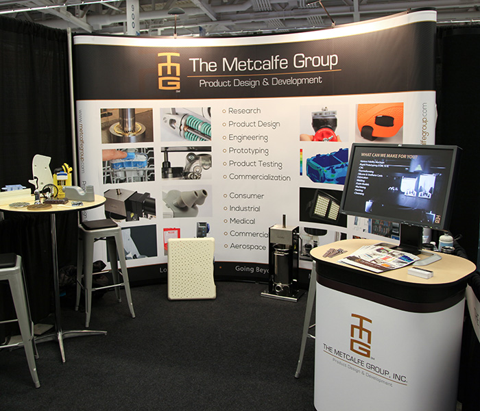 The Metcalfe Group booth at ADM Cleveland