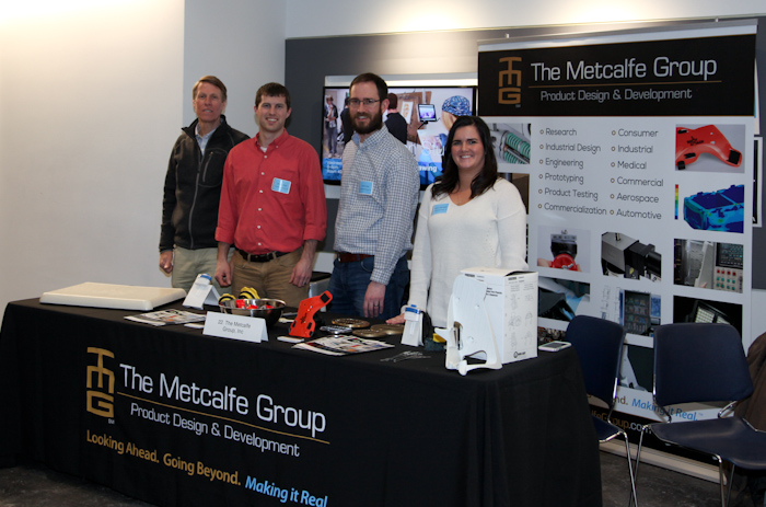 The Metcalfe Group at the 2018 CIA Career Fair